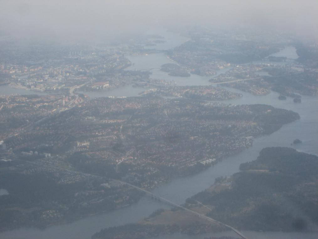 Stockholm im Nebel