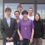 Deutsches Team mit Medaillen