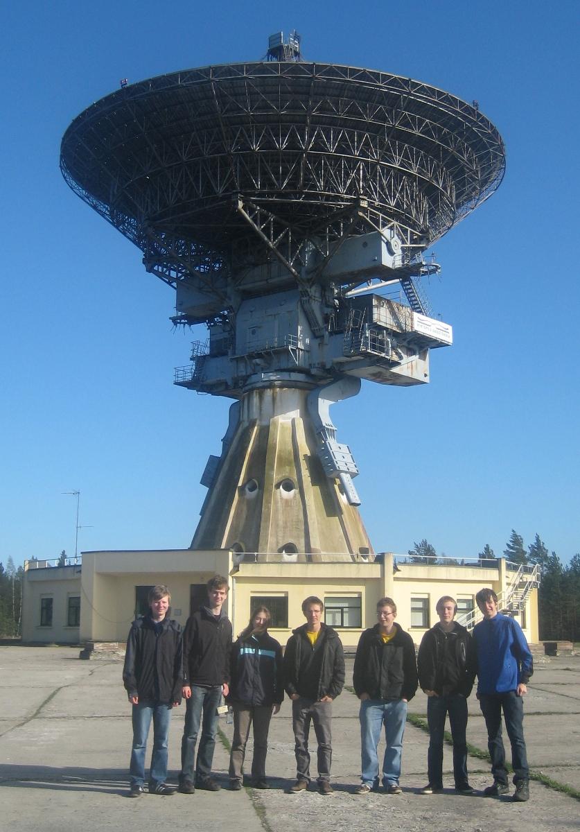 Radio Teleskop in Ventspils