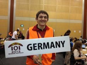 Der Guide des deutschen Teams: Bennett.