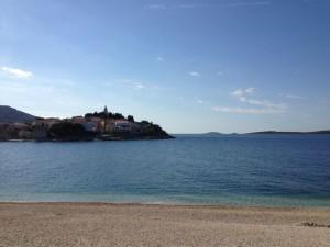 Ausrichtungsort der CEOI 2013: Primosten an der dalmatischen Adria
