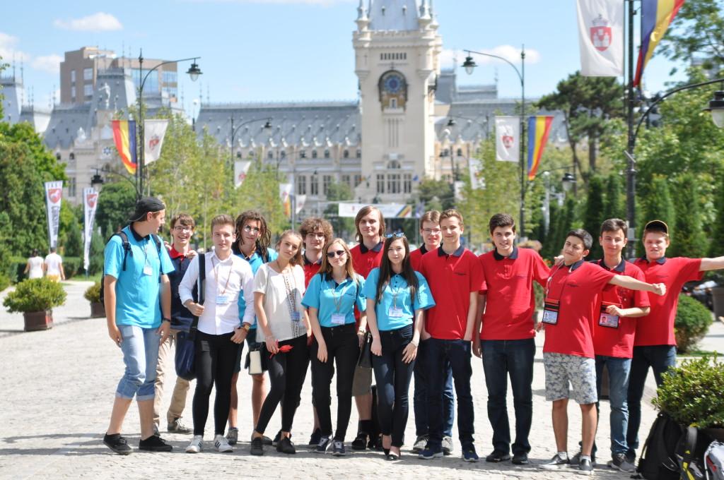 Vor dem Kulturpalast