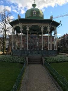 Beispiel typisch norwegischer Architektur