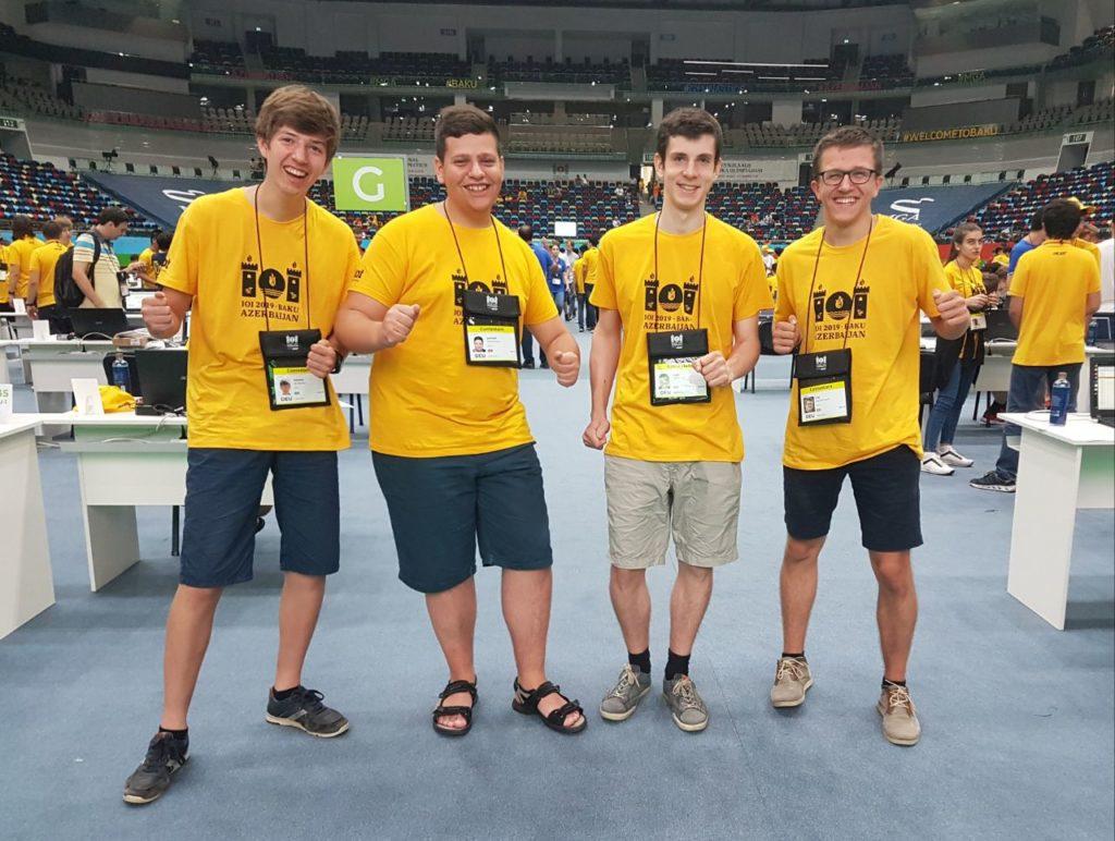Deutsches IOI-Team Tag 1